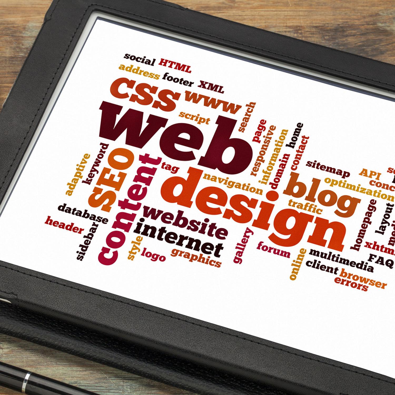 Web design word